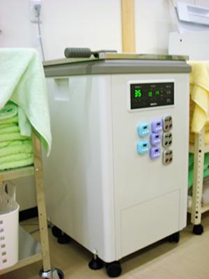 ハイドロターザー(湿式ホットパック装置)